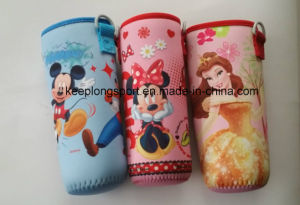 Full Color Printing Neoprene Bottle Holder for Girl