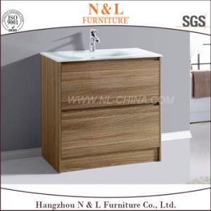 N&L Solid Wood Oak Wooden Bathroom Vanity pictures & photos