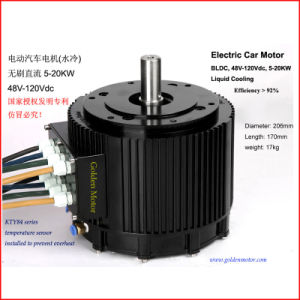 Liquid Cooling Electric BLDC High Power Motor pictures & photos