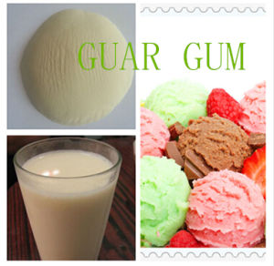 High Quality Yellowish Stablizer Emulsifier Guar Gum pictures & photos