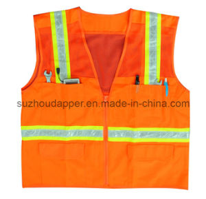 Multi-Pocket Surveyor Safety Vest (US026)