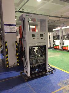 Sanki Fuel Dispenser with Two Nozzle Two Pump Two Flowmeter pictures & photos