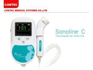 Contec Sonoline C Ce Pregnancy Ultrasound Fetal Heart Rate Doppler Monitor pictures & photos