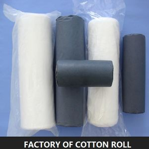 Disposable Absorbent Cotton Roll for Medical Use pictures & photos