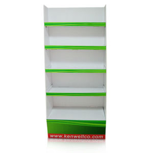 Custom Pop/POS Cardboard Display, 5 Shelves Corrugated Display Stand pictures & photos