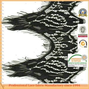100% Eyelash Knitted Eyelash Lace Fabric for Garments