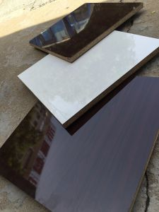 Melamine/PVC Faced MDF Board Formaldehyde Standard E1 in China pictures & photos