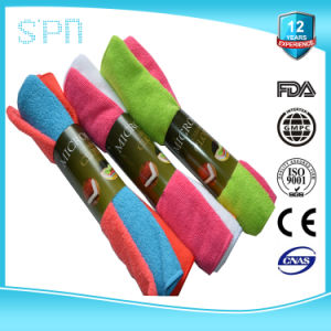 Economical Roll of Microfiber Cleaning Towel pictures & photos