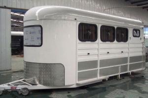 3 Horse Angle Load 3hal Luxury Horse Float China