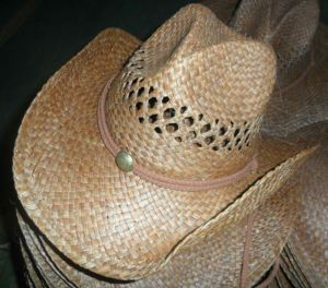 brown straw hat pictures & photos