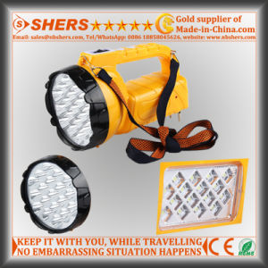 Rechargeable 19 LED Spotlight with SMD LED Table Light (SH-1953) pictures & photos