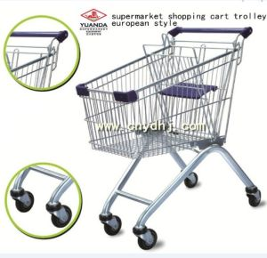 Supermarket Shopping Hand Trolley (YD-B) pictures & photos