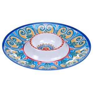 High Quality Melamine Dinner Plate Tableware Dinnerware for Italy pictures & photos