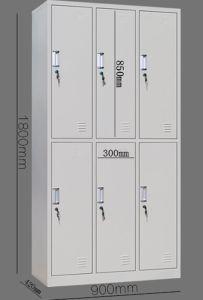 6-Door Office Equipment Steel Filing Cabinet pictures & photos