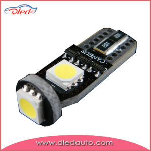 Miniature Wedge Base LED Bulbs T10 5050SMD Canbus pictures & photos