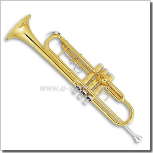 Nickel Plated Piston Yellow Brass Bb Trumpet (TP8390S) pictures & photos