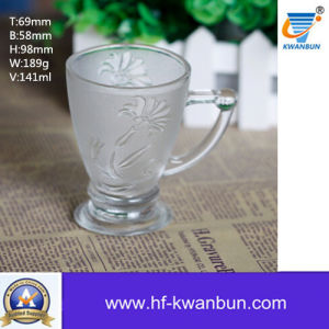 High Quality Glass Frosted Beer Cup Mug Kb-Jh06001 pictures & photos