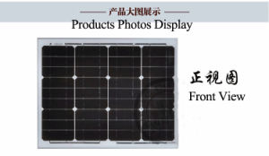 Mono and Poly Solar Panel PV Cell Plate pictures & photos