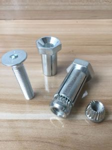 Zinc Plated Box Bolt Expansion Anchor Bolt for Structural Tube Sections pictures & photos