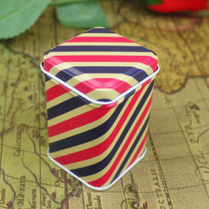 Mini Square Tin Box Small pictures & photos