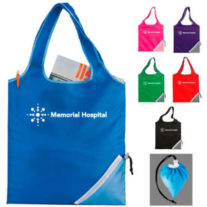 Promotional Foldable Polyester Bag with Client Design pictures & photos