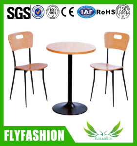 2 Seater Restaurant Furniture Dining Table and Chair (OD-194) pictures & photos