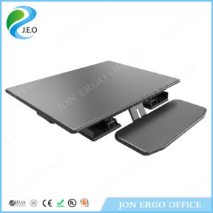 Gas Lifting Height Adjustable Sit Stand Desk (JN-LD08) pictures & photos