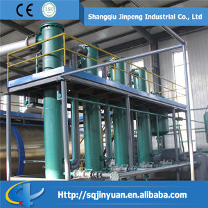 Jinpeng Environment Friendly Used Engine Oil Refining Machine pictures & photos