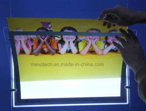 Magnetic Change Poster LED Slim Light Box for Advertising Display pictures & photos
