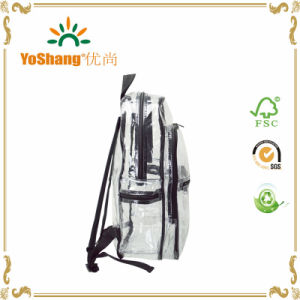 Fashion Durable EVA PVC Clear Plastic Backpack Bag pictures & photos