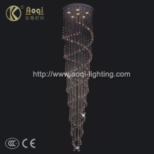 Modern Design Beautiful Crystal Line Lamp (10020A) pictures & photos