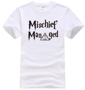OEM High Grade Fashion Short Sleeves Words Printing T Shirt pictures & photos