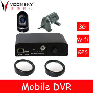 Mobile DVR with 3G Module for Real Time Monitoring and Communication with The Driver pictures & photos