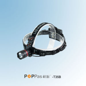 3 Brightness Levels CREE XP-G R5 LED Headlamp (POPPAS- T35B) pictures & photos