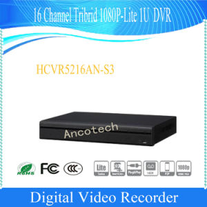 Dahua 16 Channel Tribrid 1080P-Lite 1u Standalone DVR (HCVR5216AN-S3) pictures & photos