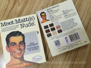 Super Popular The Balm Meet Matt (e) 9 Colors Nude Eyeshadow Palette pictures & photos
