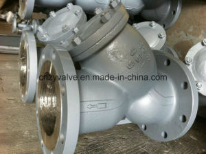 "API/DIN/JIS Class150 Cast Steel A216 Wcb 28"" Dn700 Y Strainer pictures & photos"