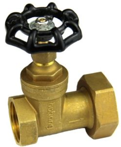 Gate Valve Front/Behind of The Water Table