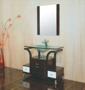 Glass Basin Bathroom Cabinet (B-609) pictures & photos