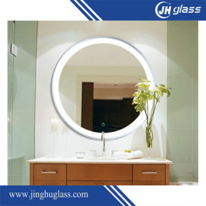 New LED Mirror Touch Screen Wall Mounted Lighted Vanity Silver Mirror pictures & photos
