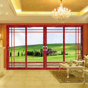Feelingtop Three Rail Aluminum Metal Sliding Door (FT-D126) pictures & photos
