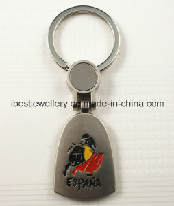 Metal Keyrings with Spanish Logo pictures & photos