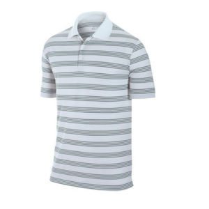 Custom Stripe Cotton Polo Shirt Manufacturer pictures & photos