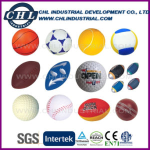 American Football Shaped Soft Mini Customized PU Stress Ball pictures & photos