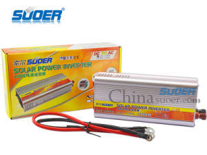 Suoer Solar Power Inverter 2000W Auto Power Inverter 12V to 220V for Home Use with Factory Price (SUA-2000A) pictures & photos