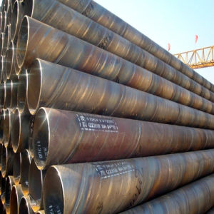 Q235B Spiral Steel Pipe for Oil, Gas, Liquid Coal Delivery pictures & photos