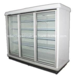 Supermarket Display Freezer with Glass Door pictures & photos