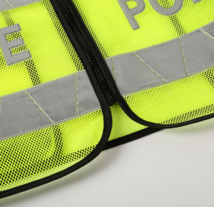Custom Hot Sale Traffic Safety Sanitation Constraction Grid Reflective Vest pictures & photos