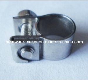 Mininature Hose Clamp Hose Clip in Galvenized Steel