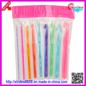Colorful Plastic Crochet Hook (XDHH-003) pictures & photos